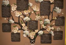 wedding table seating chart