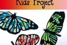 Niños mariposa