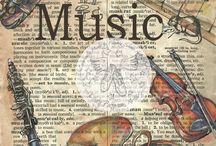 obraz hudby