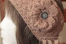 CROCHET KRAZY~ACCESSORIES~HEADBANDS & EAR WARMERS
