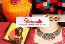 Storemate / Storemate.com is the world's 1st social marketplace where people interact in real-time to buy and sell unique and beautiful artisan made goods.