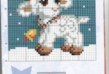 Cross stitch 1 / grille point de croix