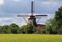 Molens in Duitsland / Wind en watermolen