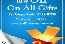 Coupons For Discount / Get discount on different gifts from online gift site. Let's make it easy to buy gifts at cheap rate for your ear one with exclusive coupon collection.