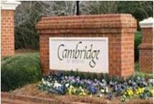Cary, NC  - Cambridge- Find Cary NC Homes & Real Estate / Cambridge Subdivision Call 919-578-3111 for more information and for a free relocation guide.