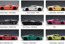 AUTOart 1:18 LAMBORGHINI AVENTADOR LP700-4 colors