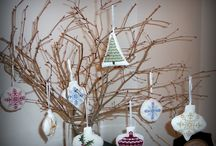 xmas ornaments / cross stitch