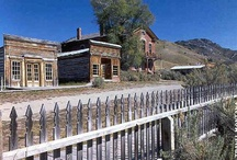 Ghost towns  / I am fascinated with Ghost Towns. I want to see them all! / by Brooke