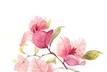 water colour paintings / - art is an expression of the soul