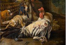 Melchior d'Hondecoeter (c. 1636 – 1695) / Dutch Art.