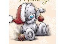 Me to You Bear Christmas Cards 5