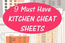 cheat sheet/ baking