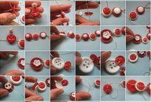 como fazer trabalhos com botões