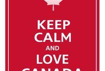 Canada day decor