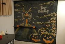chalkboard halloween