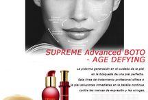 Cosméticos AntiEdad / Descubre las nuevas líneas para el tratamiento de la edad. Renovadas, con nuevas fórmulas y más actualizadas. Todos los cosméticos Anti Edad de Premier, Prestige y Supreme.