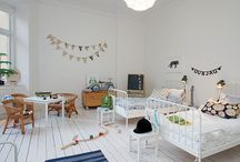Light Scandi Style Kids Rooms