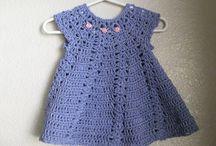 crochet little dresses