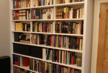 Bookshelves / A tour of delectable bookshelves--the possible and the impossible. To have that is. / by stephanie lynch