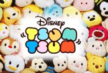 Tsum Tsums! / Disney little stuffies like  OMG look at their face!