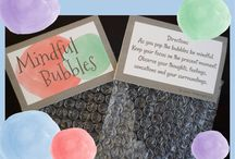 Think Bubbles / Everyone loves to pop bubbles! Think Bubbles are a fun way for kids and adults to share their thoughts while popping bubbles. Themes include gratitude, stress, mindfulness, solutions, affirmations, learning, ideas and much more. They are great for counseling, classroom, team building, ice breakers, or to use at home.