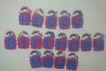Birthday Banners / by Lucy Lewis