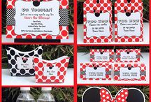 Minnie mouse birthday idea