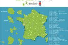 Grande Distribution / Magasins U, Carrefour...