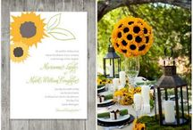 Sunflower weddings / by Gwen's Paper Expressions