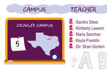 Crowley / Just some of the fun moments and activities we share at our Crowley, Texas campus.