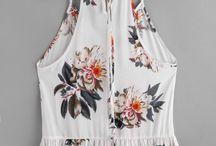 camisolitas floreadas