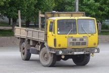R Russian Trucks - GAZ / Trucks of the Russian brand GAZ.