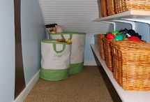 storage closet / by Janet Lee