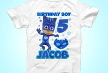 PJ Masks Birthday Party Shirt