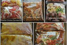 food (freezer meals) / by Heather Boudreaux