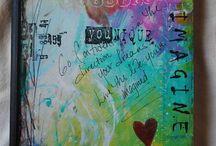 Alterated fabric bookcover