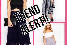 Trend Alert! / The team at Mode In Style have come together to share the latest trends with you!