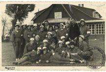 Stare zdjęcia z Rymanowa-Zdroju / Tablica przedstawia stare zdjęcia z Rymanowa-Zdroju.