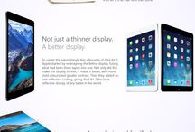Apple / The Apple iPad Air 2 and iPad Mini 3