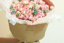 packing flowers