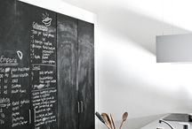 Inspiration - Blackboards in Kitchens