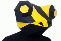 lowpoly masks