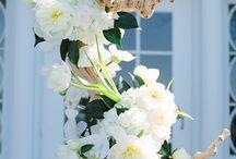 květinové vazby - dekorace
