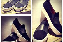 Shoes Feel the love by Rena Xenou / Handmade leather shoes