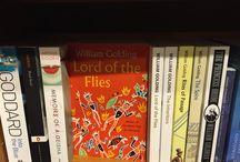 William Golding books in book shops / Golding books in bookshops.
