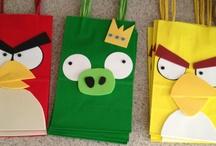Angry Birds bday party ideas / Cruz's 4th bday