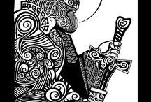 tattoo / baltic and slavic folklore
