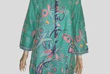 Baju Batik Tunik Toska [1164]