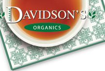 Davidsons Tea / In the 3 decades that they have been in the market, Davidsons Tea has quickly grown into a household name synonymous with healthy teas for all different types of tea fanatics. All the Davidsons Tea are USDA Certified Organic so you can be sure there are no chemical additives that come with side effects.  http://theteasupply.com/store/category/davidsons-tea/