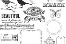 free vintage stamp